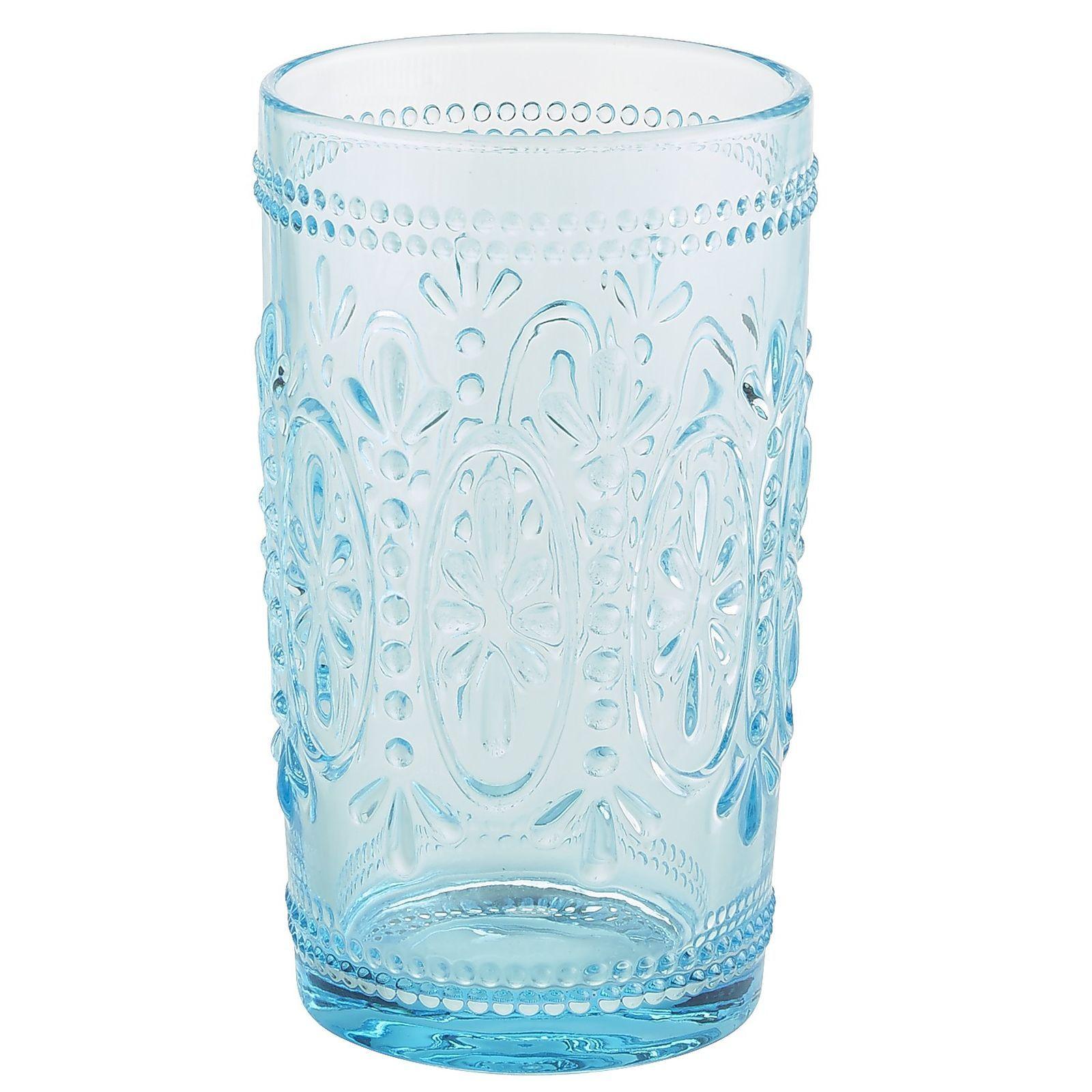 Libbey 2392 Perception 9 oz Rocks Glass w// Signature Party Picks SET of 6