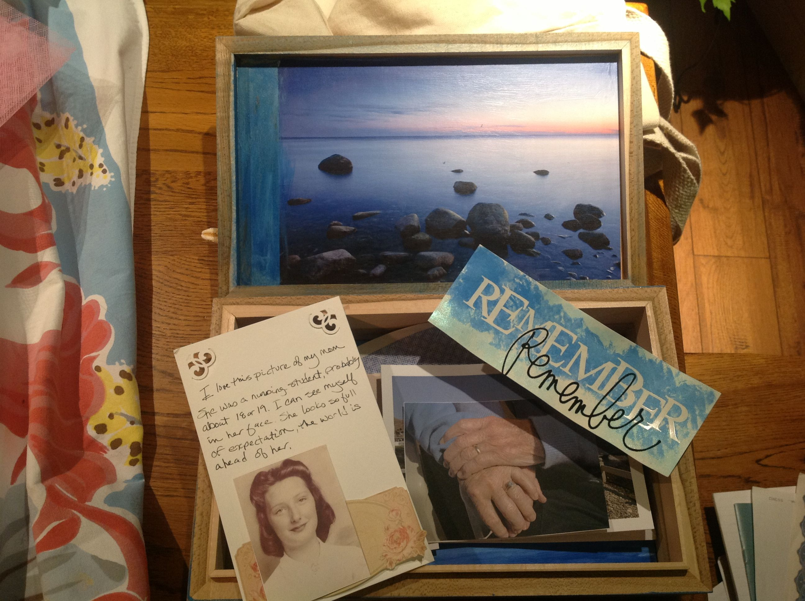 A Memory Box For My Mom And Dad