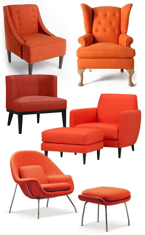 Miraculous Orange Accent Chairs Galore How About Orange Awesome Gmtry Best Dining Table And Chair Ideas Images Gmtryco