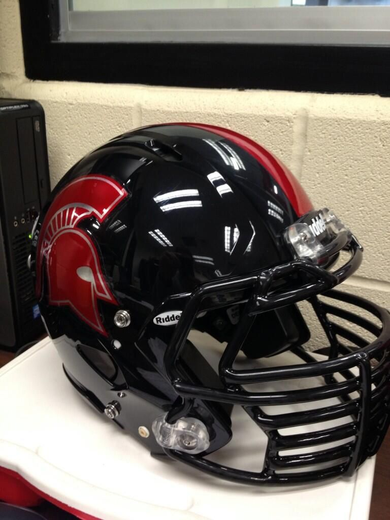 Chrome football helmet decals are a great way to add swag