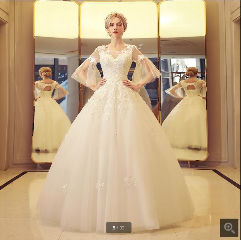 Free Shipping  Buy Best boho wedding dress vestido de noiva curto ... d5d26a02456f