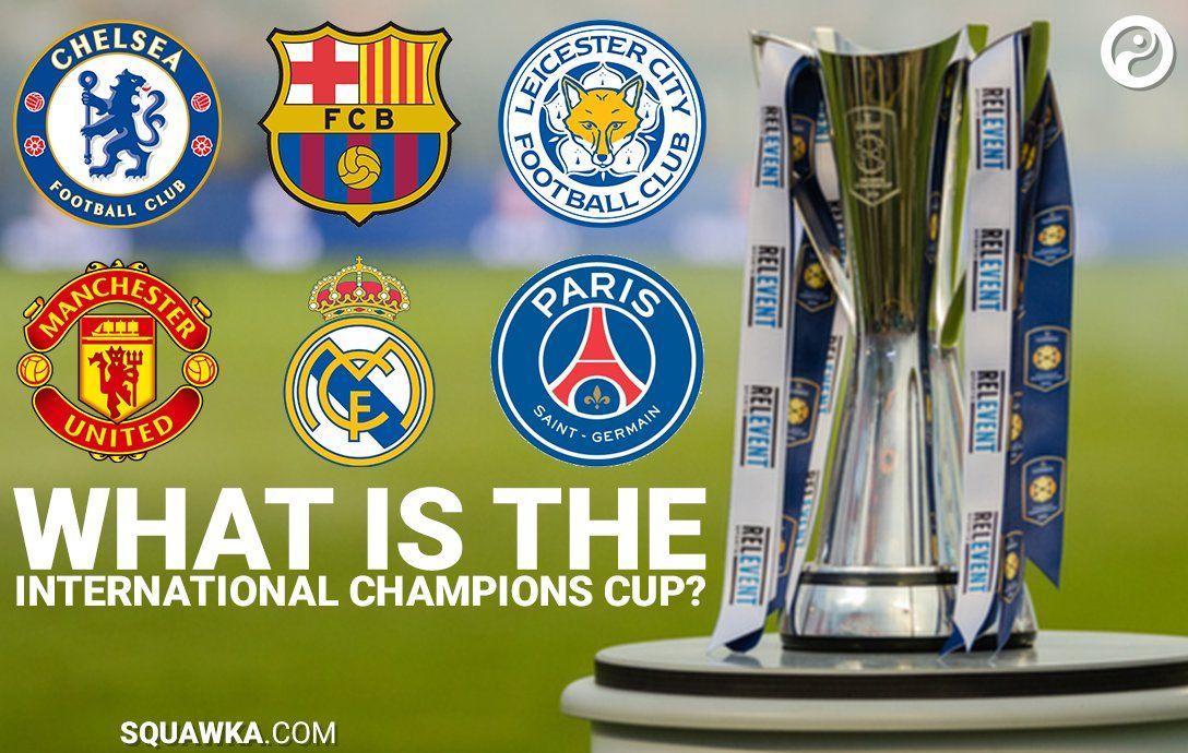TV Fixture}}} International Champions Cup 2017