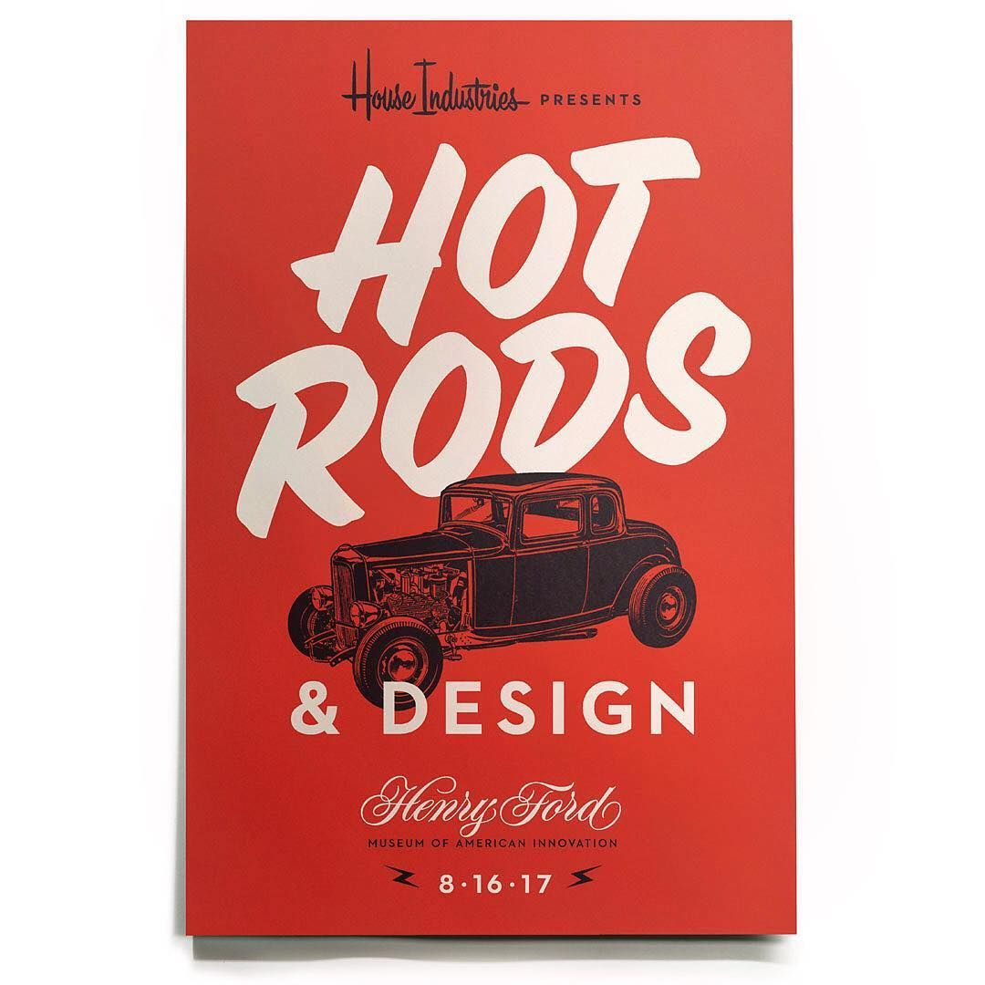 HOT RODS & DESIGN _ Join House Industries cofounder Andy
