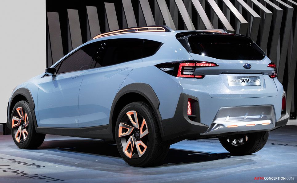 New Subaru Xv >> New Subaru Concept Previews Next Generation Xv Crossover