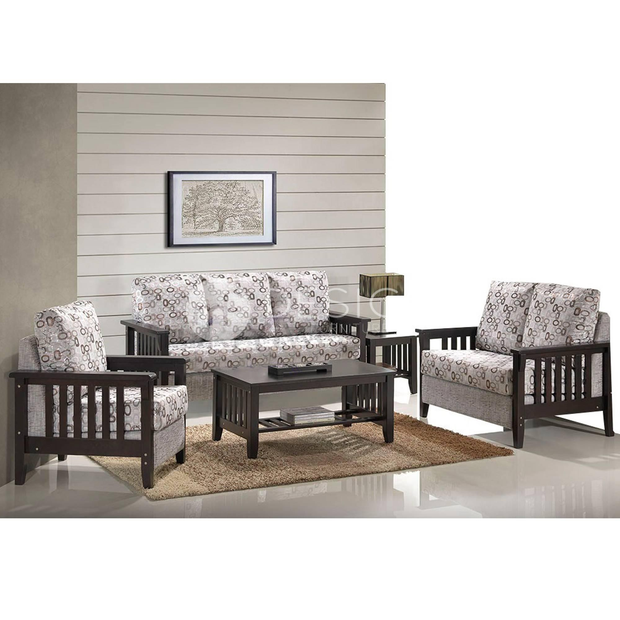 ZACHARY ANTIQUE 1 2 3 SOFA SET