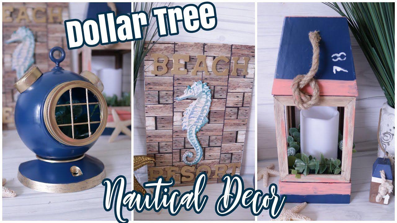 Photo of Dollar Tree DIY Nautical Decor | Beach Decor