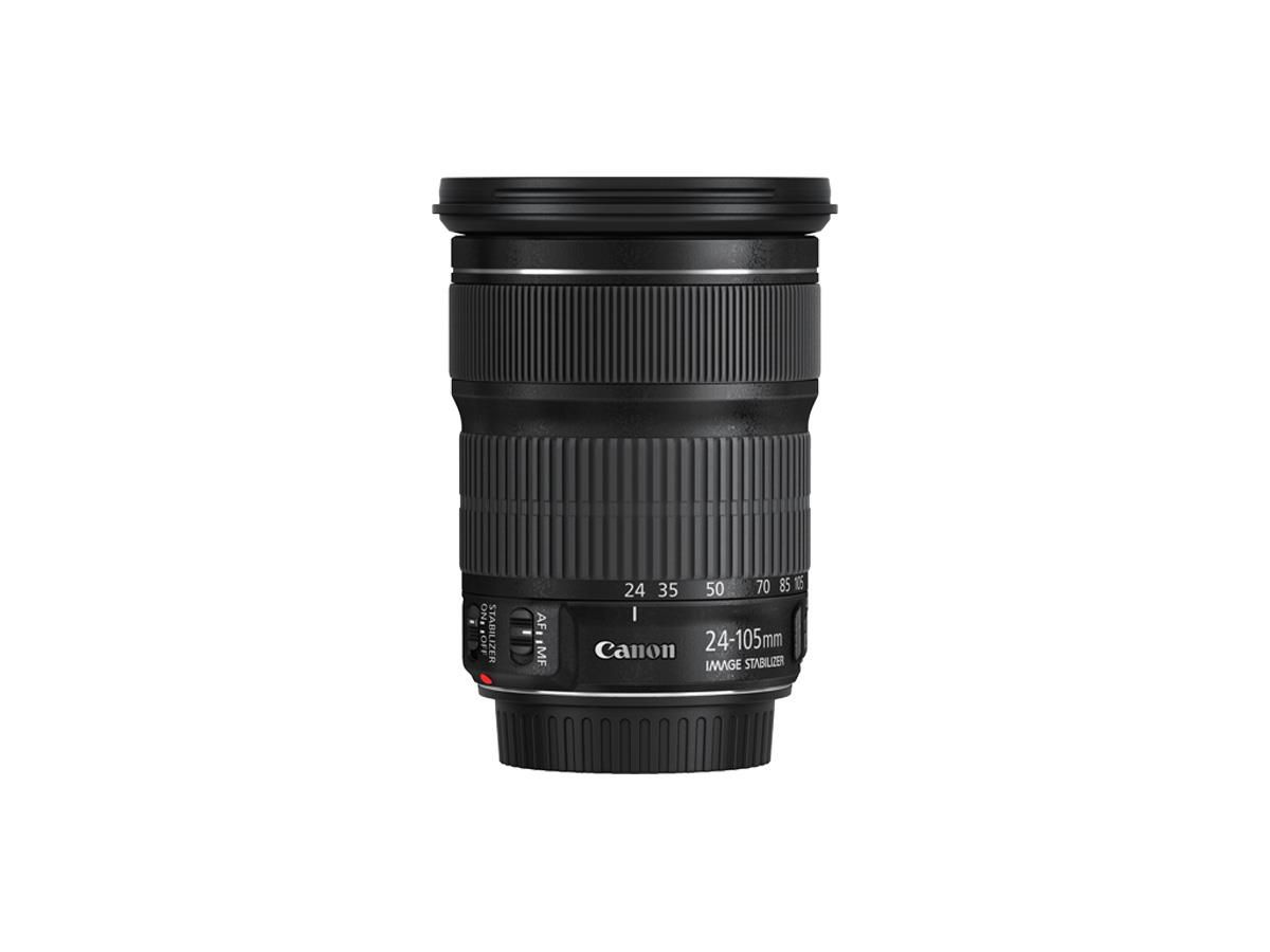 Side View Of Canon Ef 24 105mm F 3 5 5 6 Is Stm Lens Canon Ef Lens For Portraits Canon