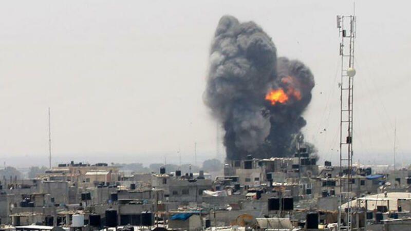Israil Ordusunun Qirici Təyyarəli Qəzza Zolaginda Həmas In Movqelərinə Zərbələr Endirib Publika Az Xəbər Verir Ki Israil Mudafiə Gaza Gaza Strip Fighter Jets
