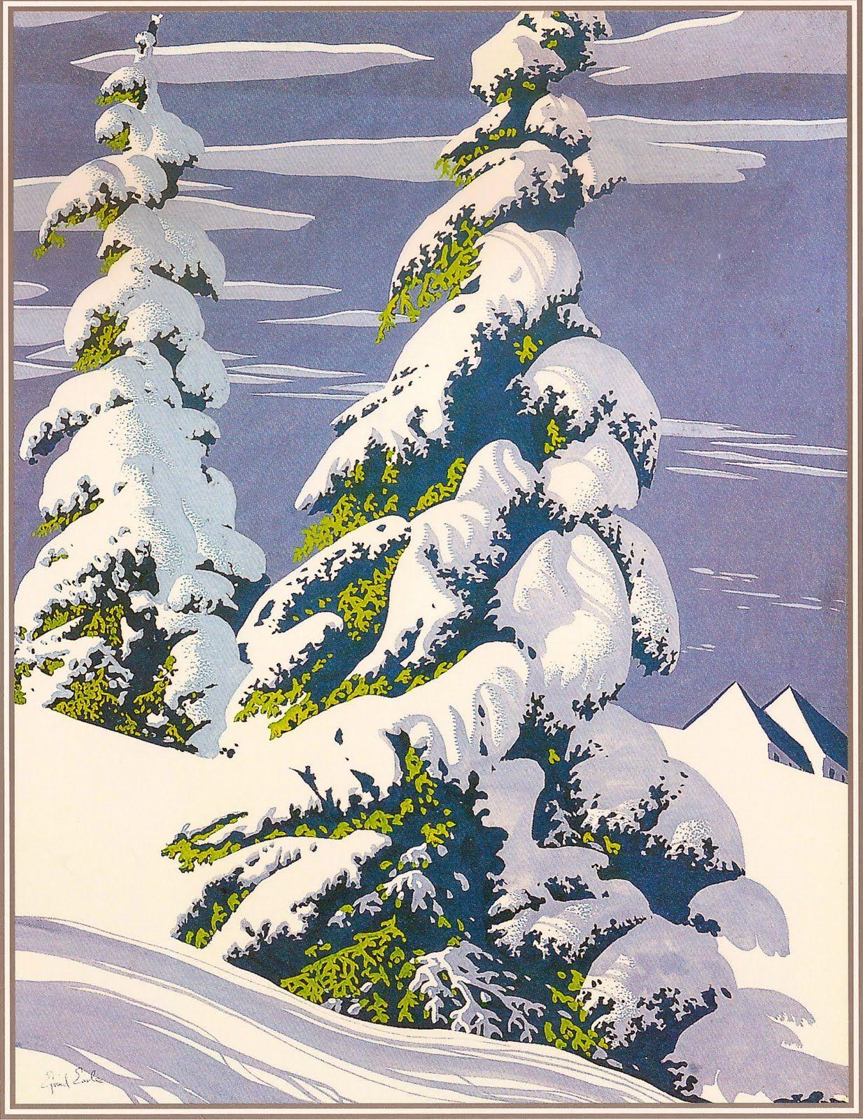 The amazing Eyvind Earle | My all time favorite Disney background artist (1950s) | Art, Winter art