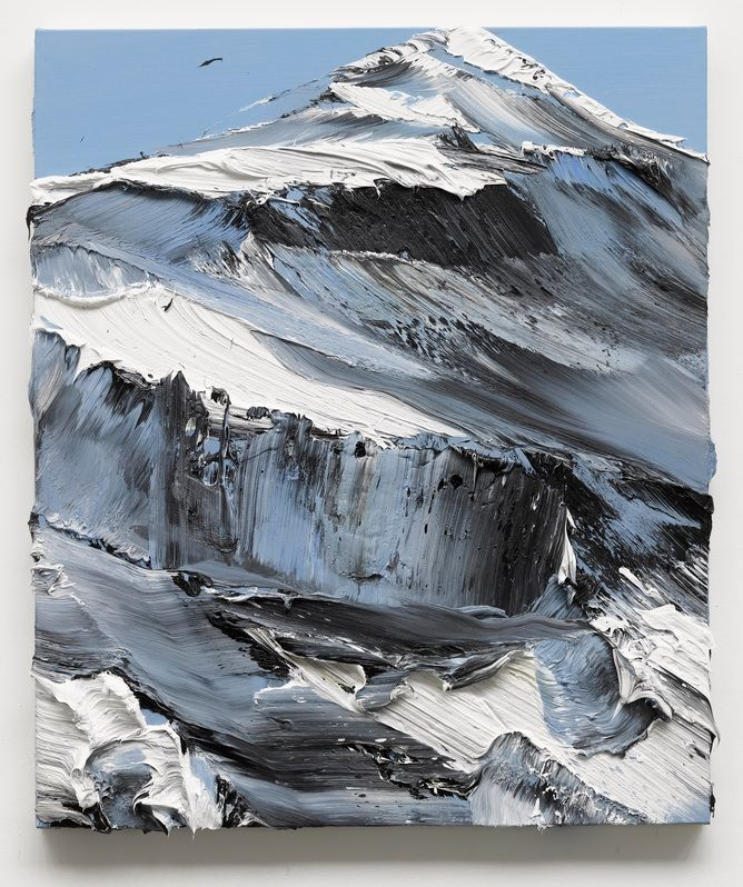 Conrad Jon Godly mountain painting
