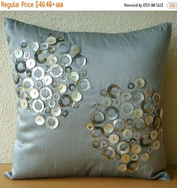 15% HOLIDAY SALE Pearl Atmosphere  Pillow Sham by TheHomeCentric