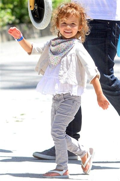 cute little girls outfit | light and airy for summer!