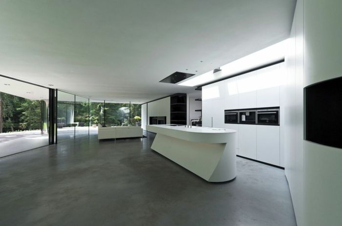 Moderne Küchen machen die Küchenarbeit zu einem einmaligen Erlebnis ...