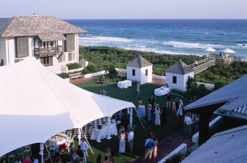 Rosemary Beach Weddings On The Western Green At
