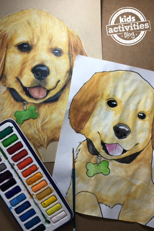 Puppy Coloring Pages for Kids and Adults – Kids Activities Blog