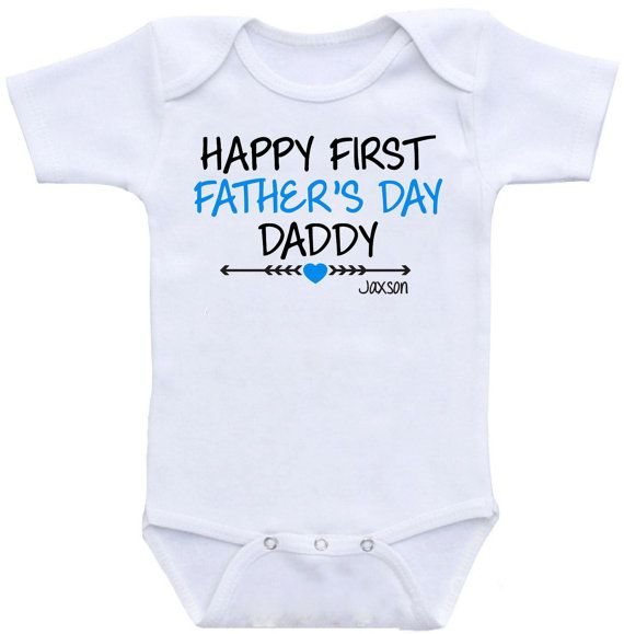 First Father 39 S Day Happy 1st Father 39 S Day Onesie Bodysuit
