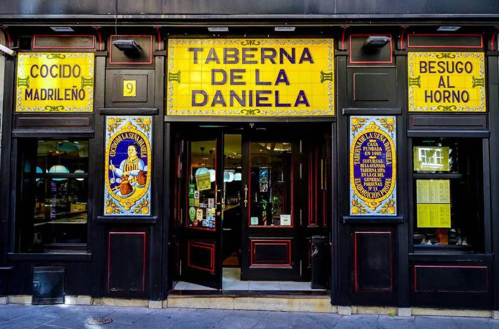 Taberna De La Daniela Recetas De Comida En Espanol Cenar En Madrid Cocido Madrileno