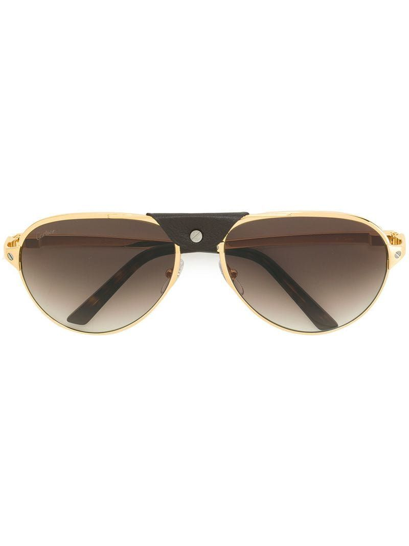 Cartier Eyewear Santos De Cartier Sunglasses – Farfetch