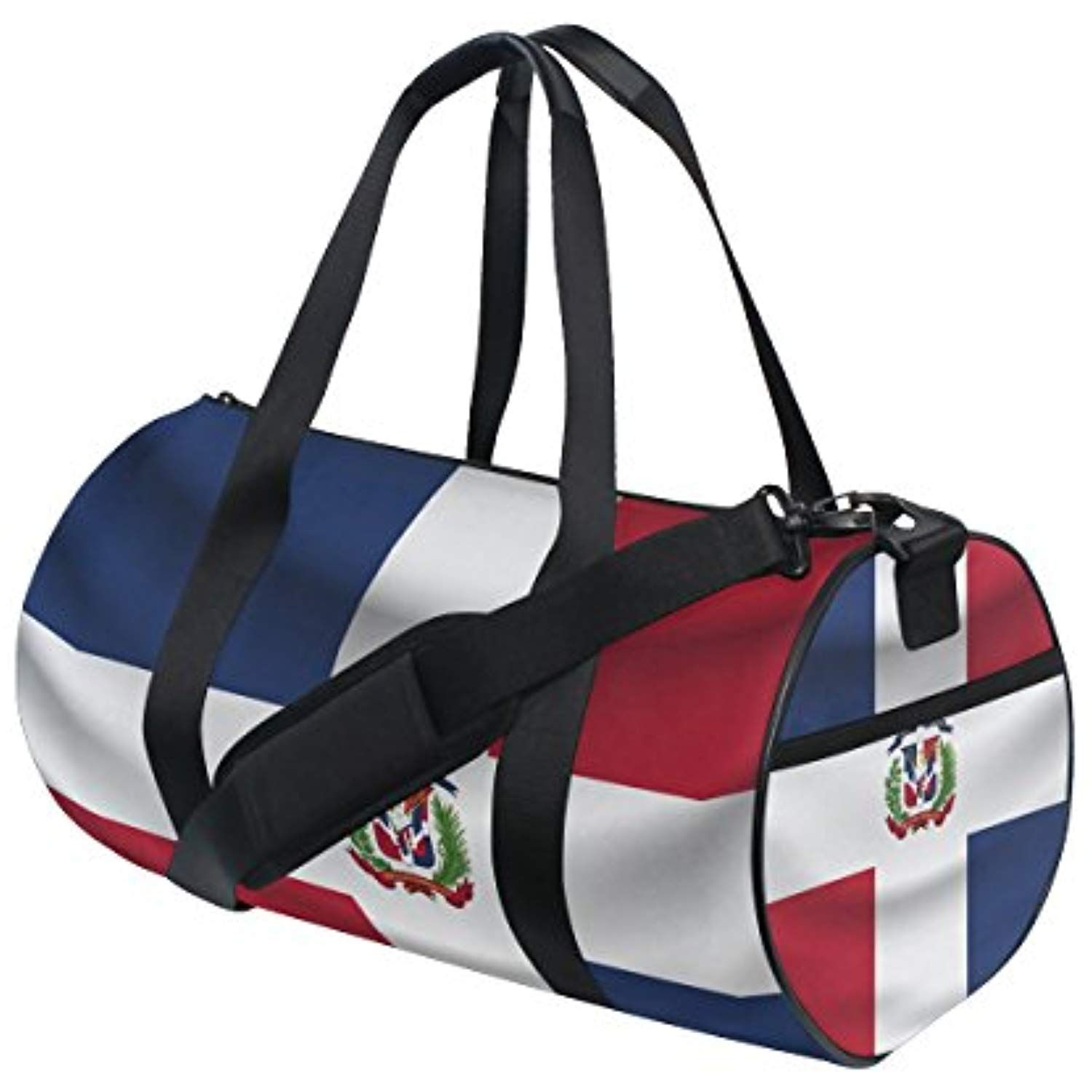 243e065840a3 Dominican Republic Flag Travel Duffel Shoulder Bag ,Sports Gym Fitness  Bags -- Click on the image for additional details.  Accessories