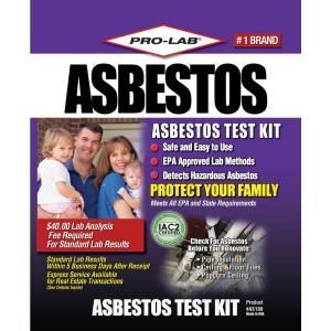 Pro Lab Asbestos Test Kit As108 At The Home Depot 7 50