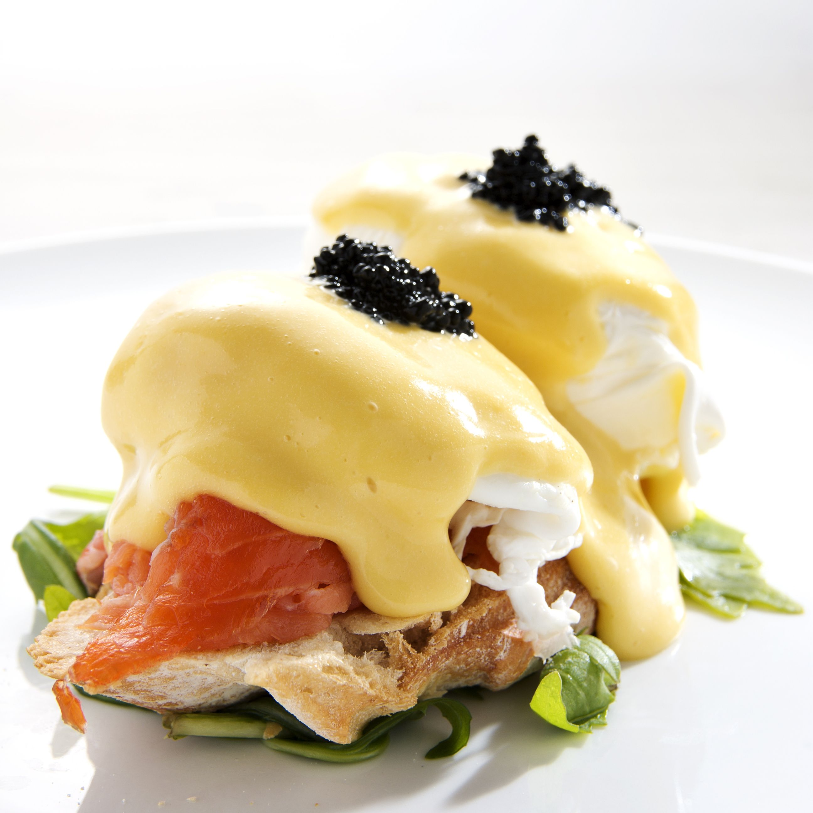 Smoked Salmon Eggs Benedict Egg Recipesbrunch