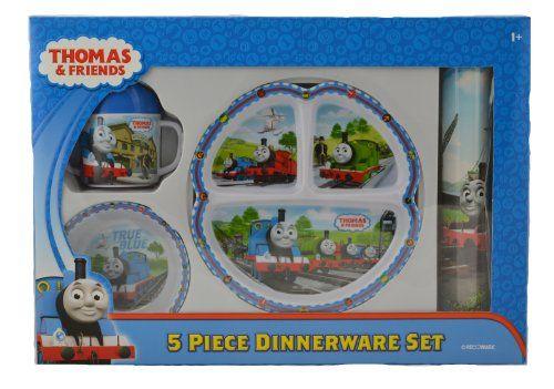 Thomas The Tank Engine 5-Piece Dinnerware Set - List price $20.99 Price  sc 1 st  Pinterest & Thomas The Tank Engine 5-Piece Dinnerware Set - List price: $20.99 ...