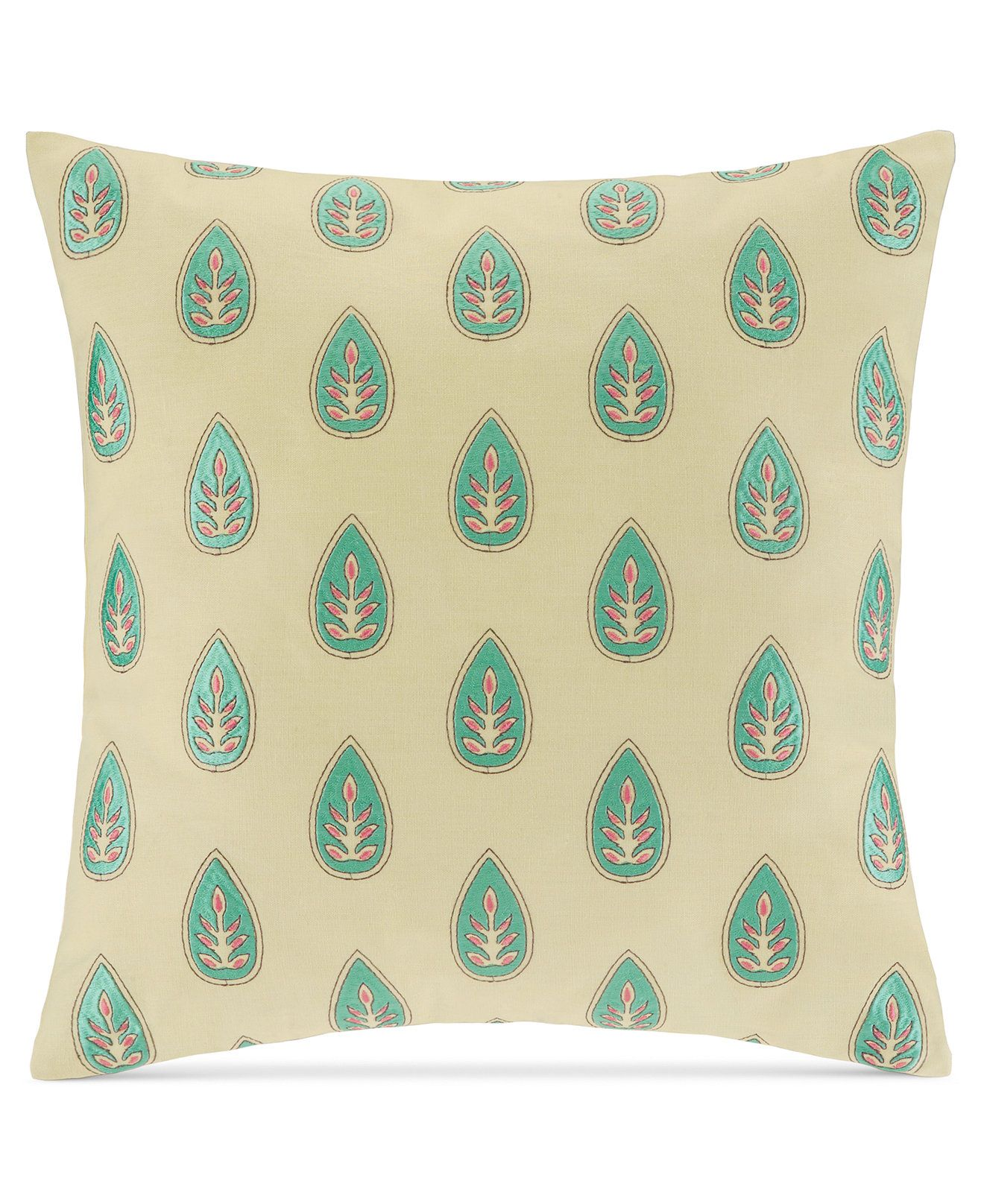"Macy's Decorative Pillows Captivating Echo Guinevere 18"" Square Decorative Pillow  Bedding Collections Decorating Design"