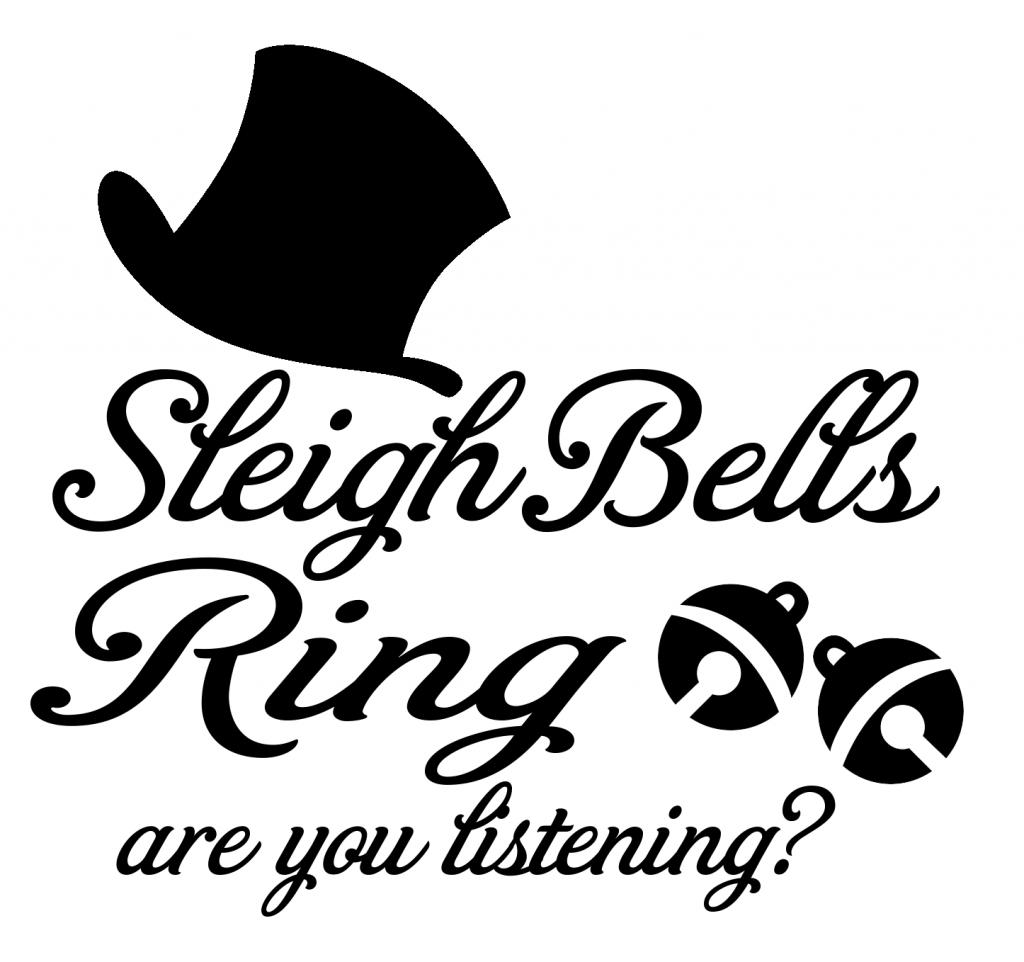 Download FREE Sleigh Bells Ringing SVG File | Cricut christmas ...