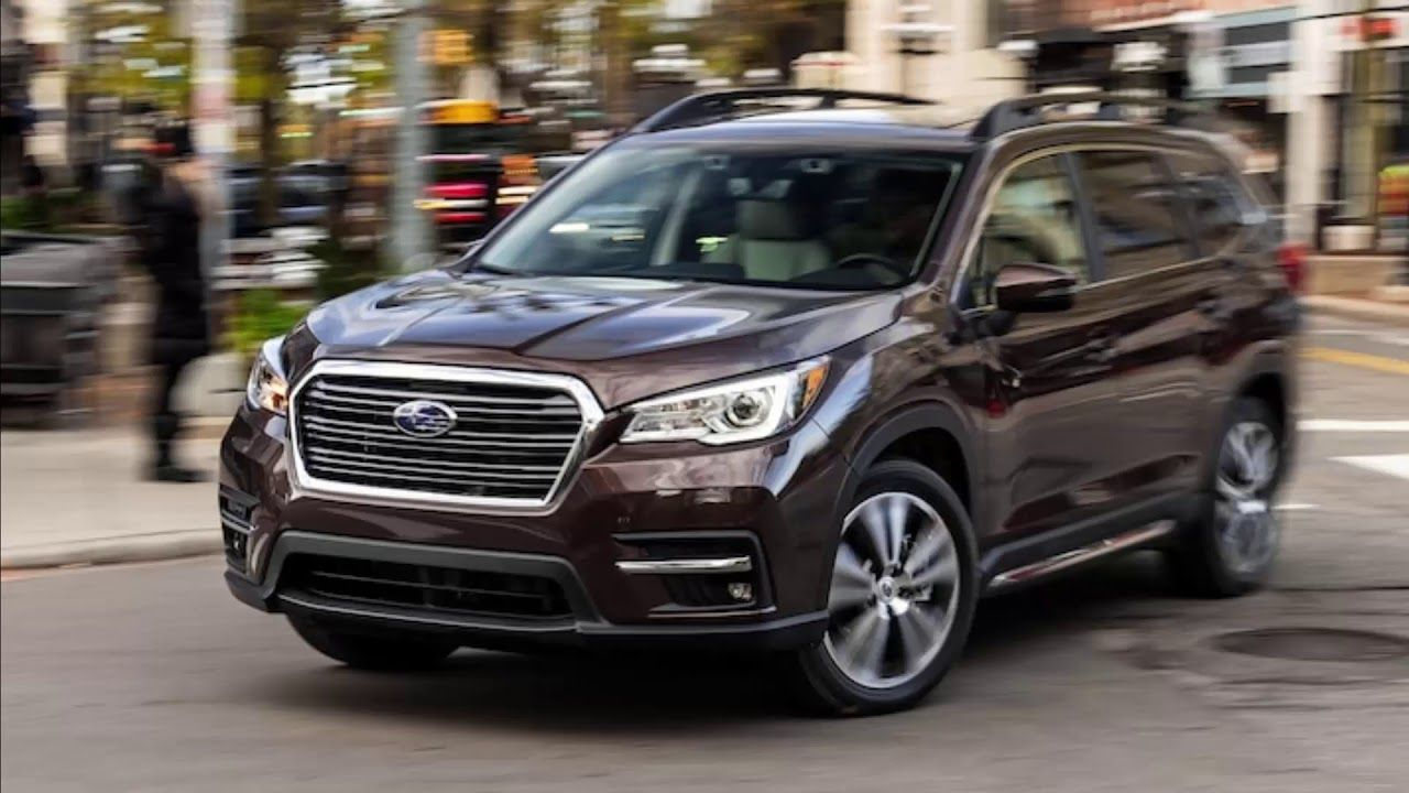 2019 Subaru Ascent 7 Cool Things About Our Three Row Crossover New Suv Subaru New Engine