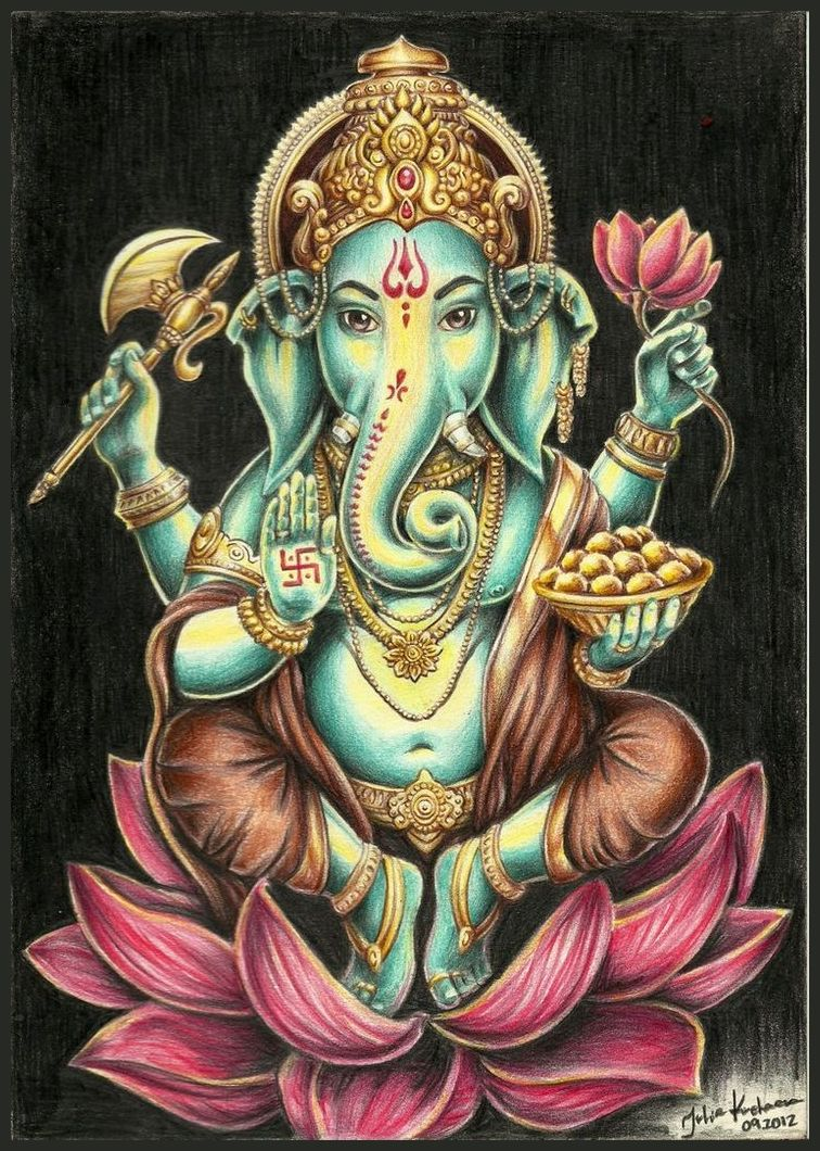 Best Lord Ganesha Vinayagar Pillaiyar Hd Images Wallpapers Ganesh Chaturthi 13 September 2018 15472 Ganesha Tattoo Hindu Art Ganesha Painting