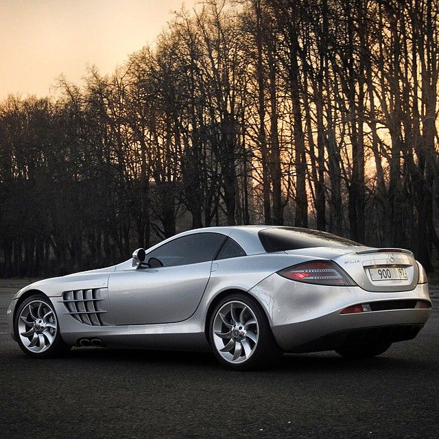The McLaren Mercedes SLR | One the most beautiful vehicles ever made.