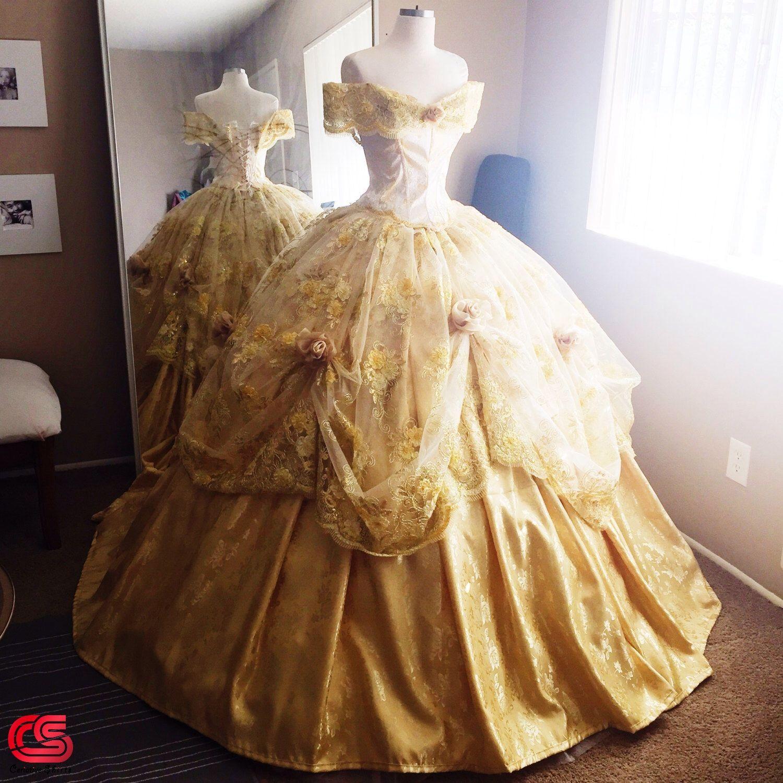 Baju Princess Belle