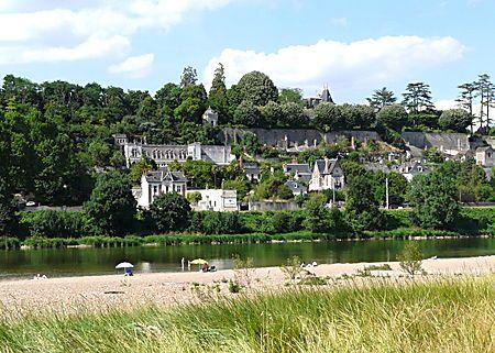 Plage sur la Loire : Fleuve : Rochecorbon : Indre-et-Loire : Châteaux de la Loire : Routard.com