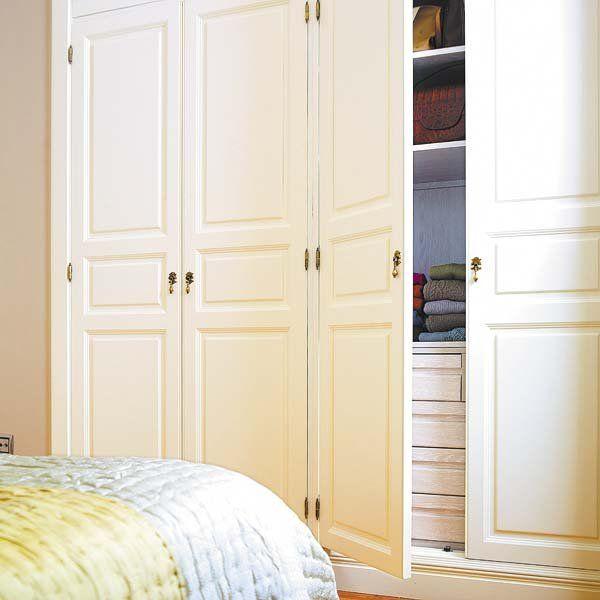 Puertas de armario muy decorativas  Home Deco  Closet