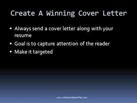 How to Write and post a winning resume \ cover letter « Jobs - how to write a winning resume