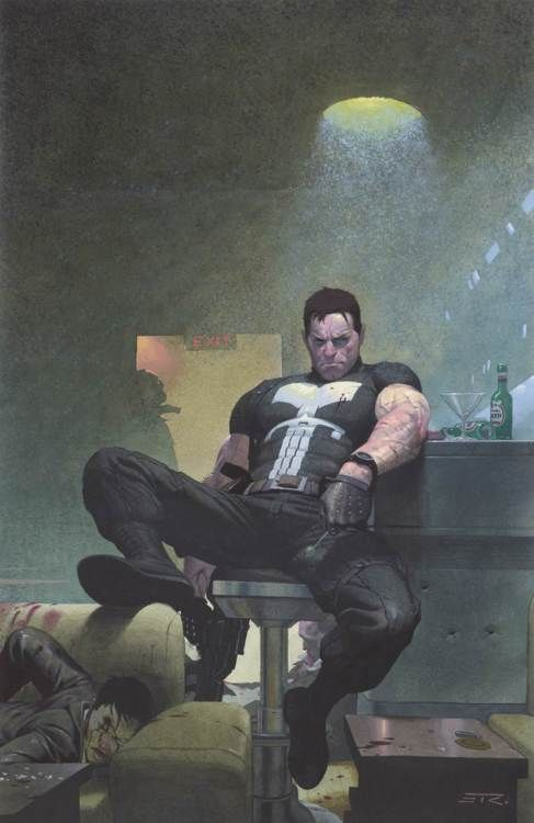 UNTOLD TALES OF PUNISHER MAX #3, by Esad Ribic
