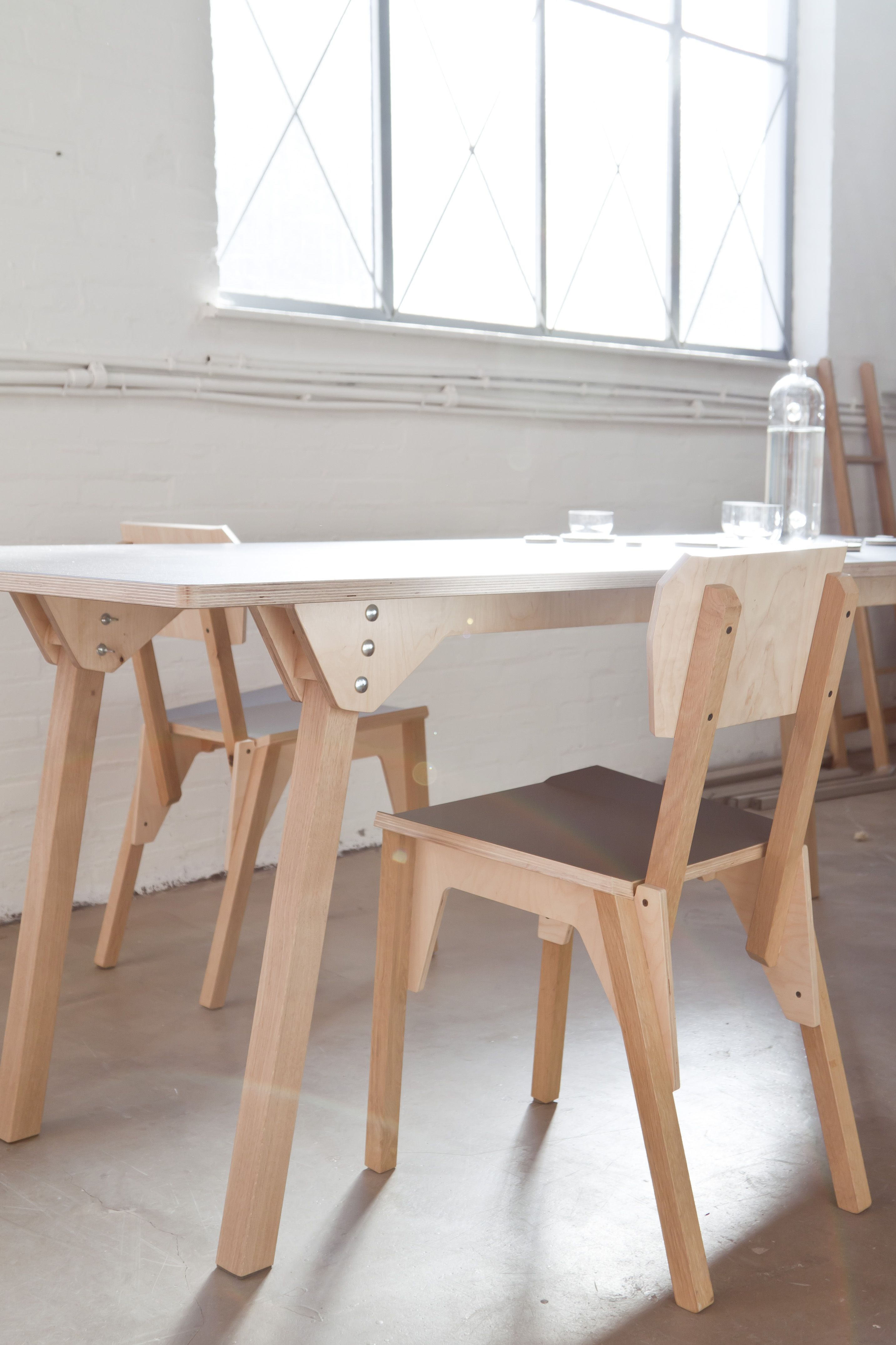 Diy plywood chair -  S Chair Jeroen Wand Together With Vij5 Oak With Plywood Elements With