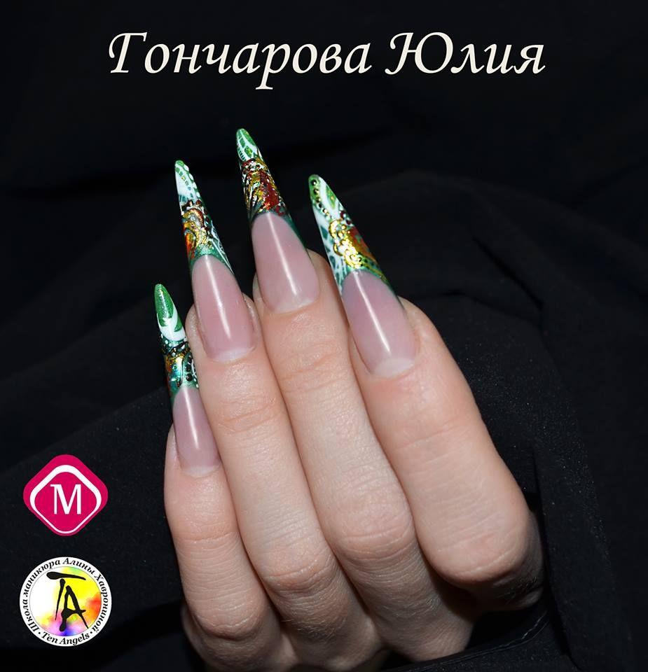 Magnetic Nail Design Ten Angels Ukraine | Nail Inspirations ...