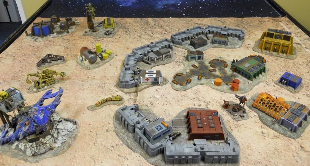 15mm Scifi Terrain Pieces By Sabol Studios Wargaming Sci Fi Terrain