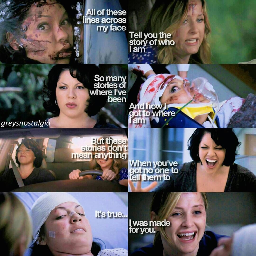 7×18 This episode is amazing and Callie slays you can't say anything else ok Btw this theme is 100% inspired by @feelthegrey  -Kelven