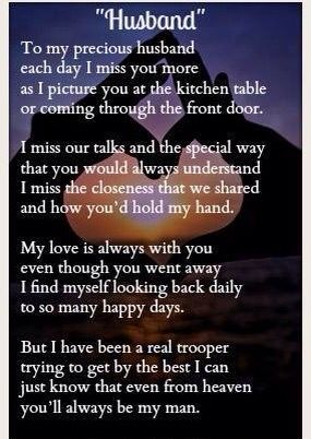 My Husband And Grief Missing My Husband Grief Quotes Grief Poems