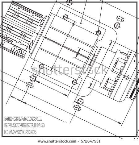 Mechanical engineering drawing white background engineering mechanical engineering malvernweather Images