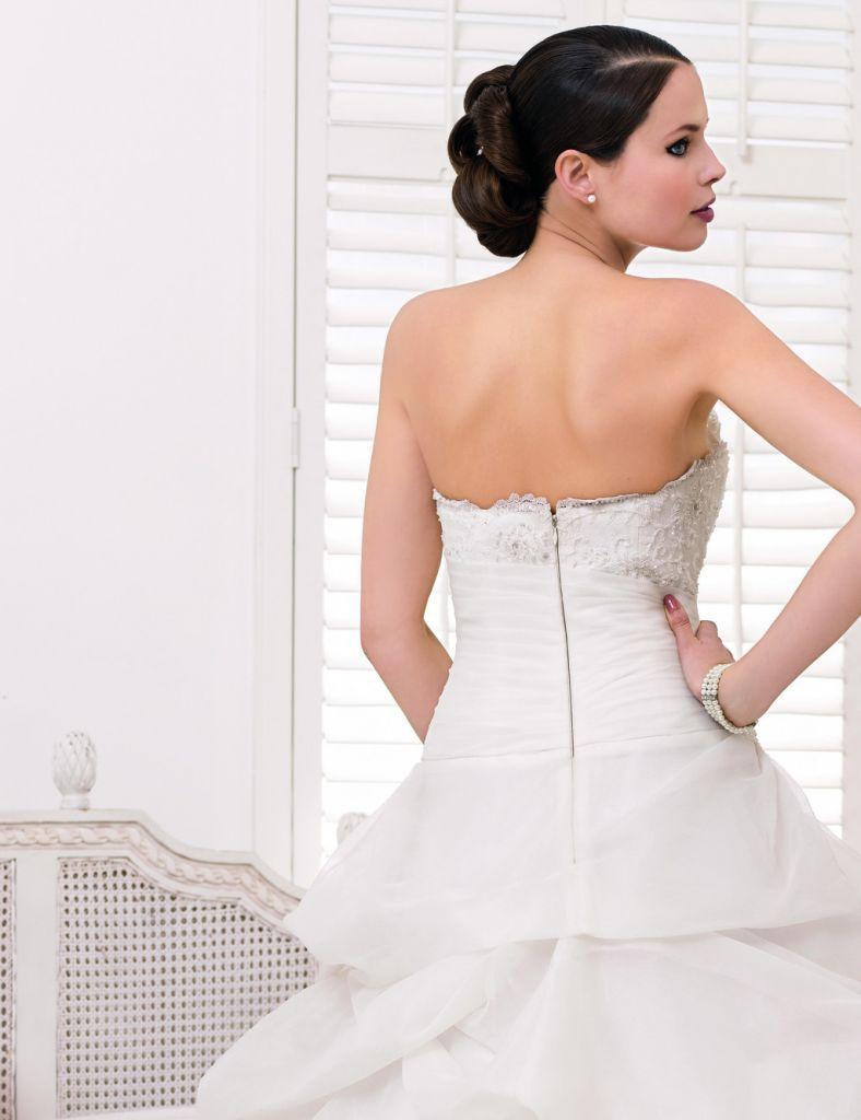 robe de mariee divina sposa ds132 10 5885_4 | Wedding dress organza, Dresses, Wedding dresses