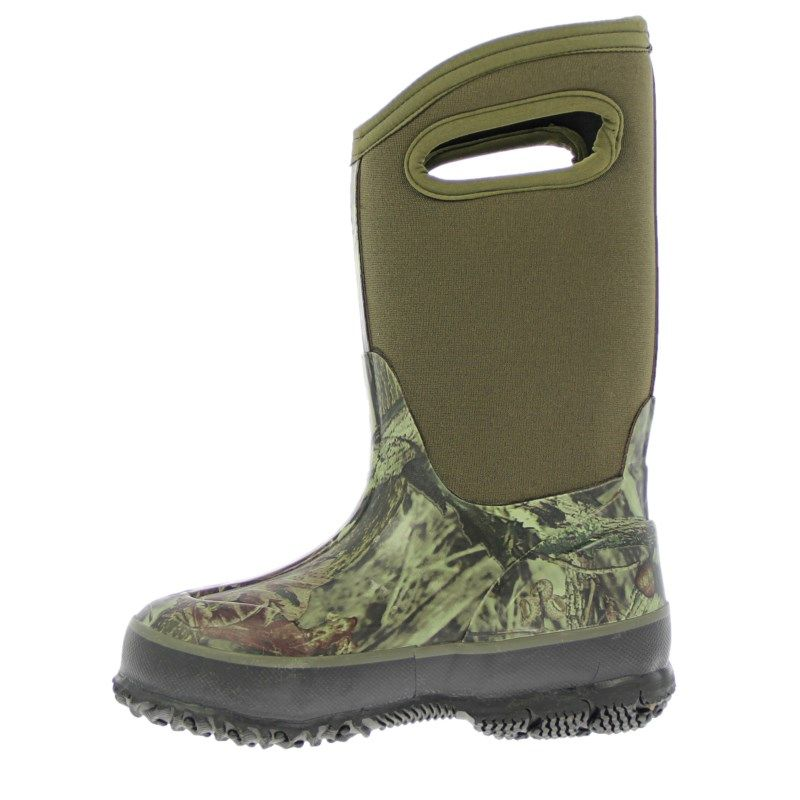 Bogs Kids' Classic Camo Winter Boot Toddler/Pre/Grade School Boots (Mossy  Oak) - M