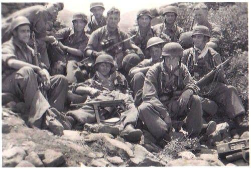 German paratrooper on Crete