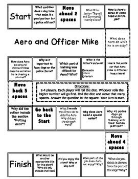 aero and officer mike comprehension