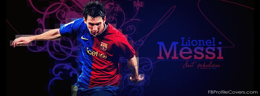 Lionel Messi Barcelona Facebook Cover
