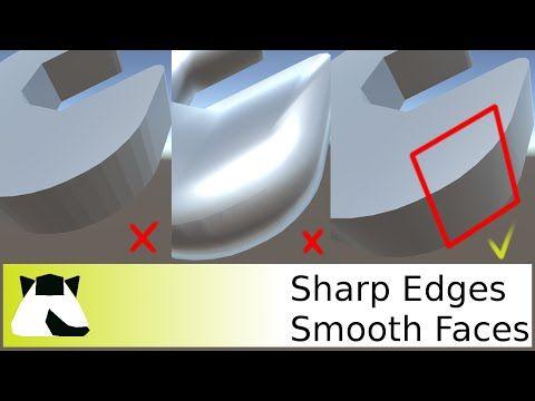 [Unity 5] Blender export Sharp edges YouTube Sharp