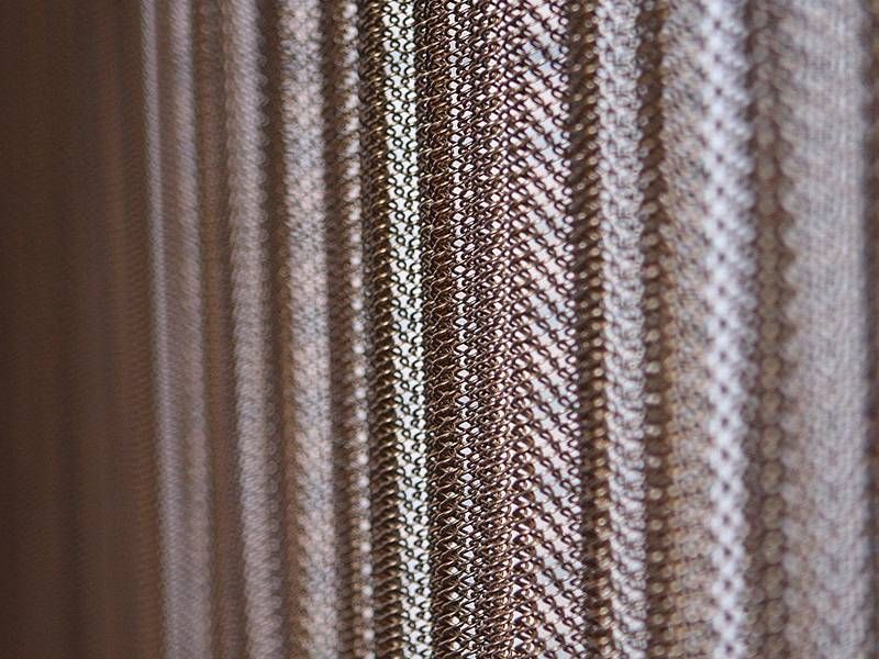 Image Result For Metal Coil Curtain With Images Wire Mesh