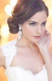 Trendy Vintage Wedding Hairstyles Updo Gatsby Side Buns Ideas #wedding #hairstyles #vintagewedding - #gatsby #hairstyles #ideas #trendy #vintage #wedding - #HairstyleBridal #weddingsidebuns